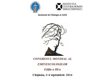 congresul mondial al eminescologilor-3-4 septembrie 2014-chisinau