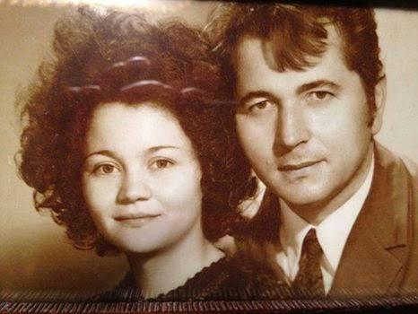 scriitorul cristian petru balan si sotia dorina bala-in tinerete