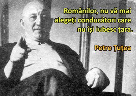 FILOZOFUL PETRE TUTEA -VOTUL ROMANILOR
