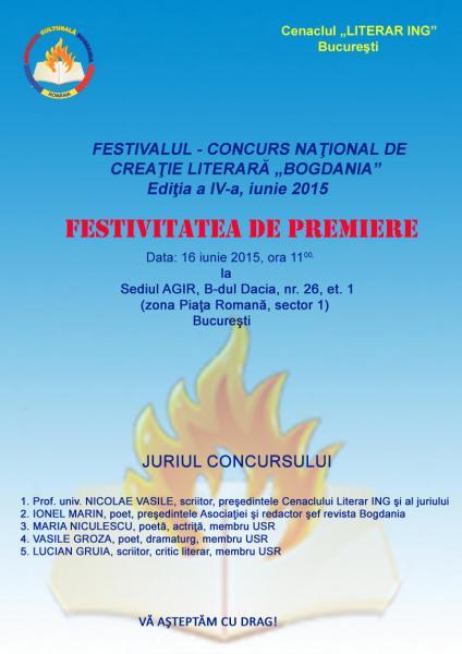 festivalul BOGDANIA 2015