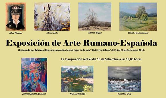 expozitie de arta romano-spaniola-madrid-exposicion de arte rumano -española