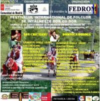 FESTIVALUL INTERNATIONAL DE FOLCLOR -SE INTALNESTE DOR CU DOR-COSLADA MADRID-ORGANIZATOR FEDROM