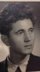 scriitorul cristian petru balan la 18 ani-liceul i.l.caragiale ploiesti