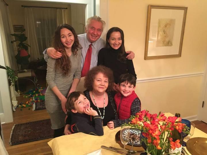 familia cristian petru balan din SUA